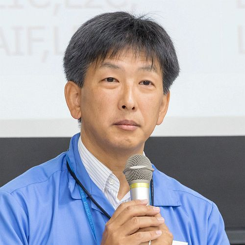 Mr. Futagi of Mitsubishi Electric