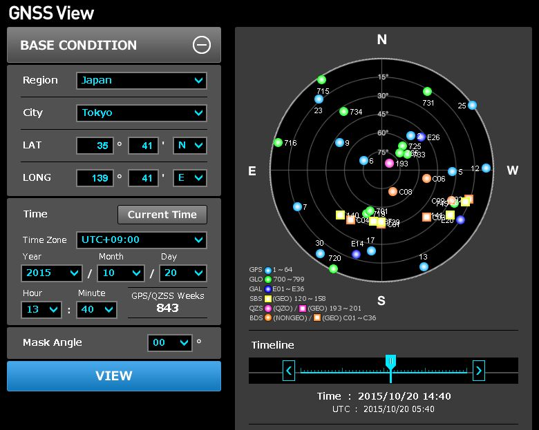 The Latest Version Ver 2 0 Of Gnss View related News